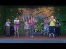 Игра-танец Помогатор ФИКСИКИ в исполнении самых маленьких Планета Героев-2016, 1 смена