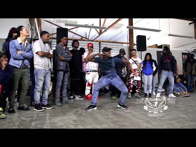 TURFinc x Black Medicine Ice Coffee Warehouse Dance Battle Top 8 Velo vs Bboy madmatt