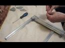Сборка станка ЧПУ из алюминиевого профиля. Вертикальная рама