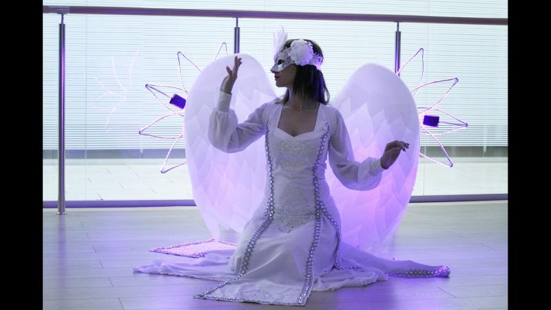 Шоу-проект Самум Ангелы аниматоры на праздник г. Нижневартовск Мегион Стрежевой Радужный Сургут