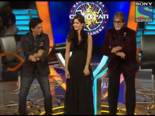 Shahrukh Khan and Katrina Kaif dances Gangnam style with Amitabh Bachchan