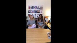 Priyanka Chopra Live on InStyle Magazine Instagram