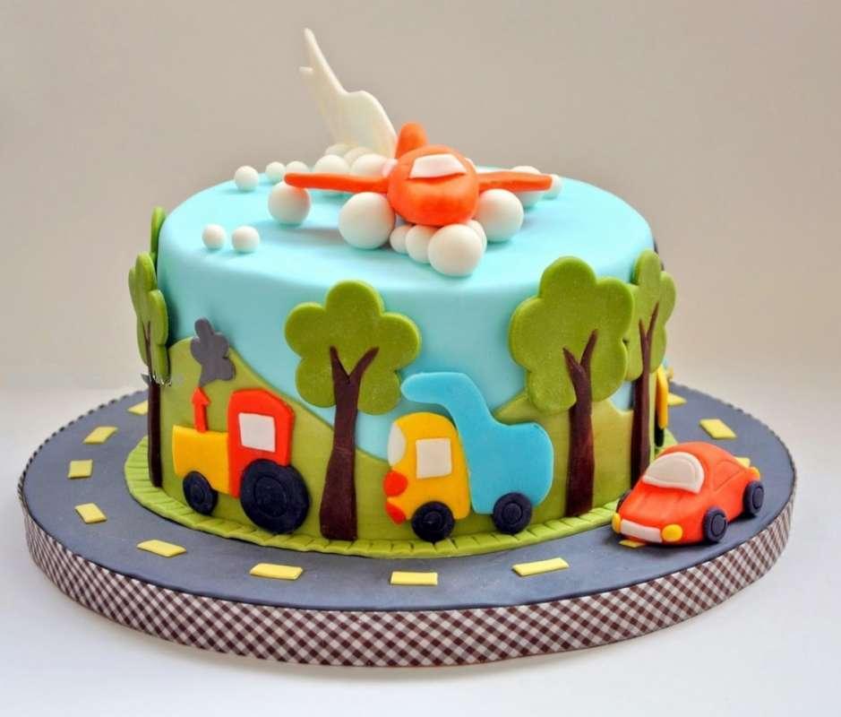 Картинки торта с днем рождения для мальчика