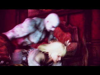 God of war kratos fucks sophia (18+)
