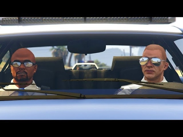 Grand Theft Auto V Interservice Rivalry by Olanov
