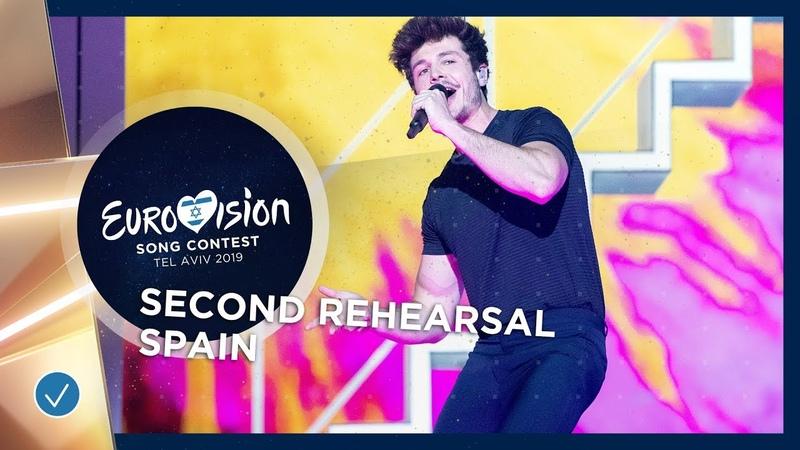 Spain 🇪🇸 Miki La Venda Exclusive Rehearsal Clip Eurovision 2019