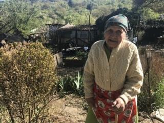 У 95-летней Эмине Ислямовой сгорел дом, построенный её отцом