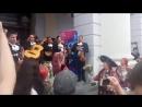Мариачи и Бурановские бабушки прощаются с мексиканскими болельщиками