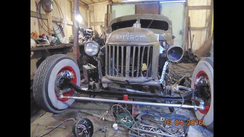ВЕСЬ Курган в ШОКЕ ОТ ЭТОГО Франкенштейна из 10 машин ЗИЛ 157 RAT ROD Frenk своими руками