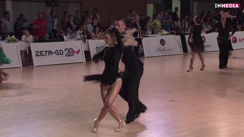 Evgeny Igumnov Vasilisa Shirobokova R1 Jive Salaspils Open 2018