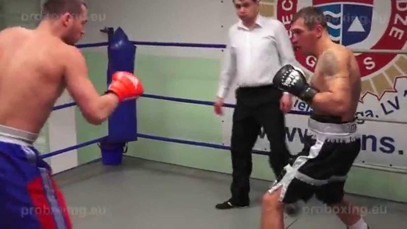 Olegs Fedotovs – 76,6 kg. VS Dmitrijs Gavrilovs – 77,0 kg. 10.12.2014 proboxing.eu