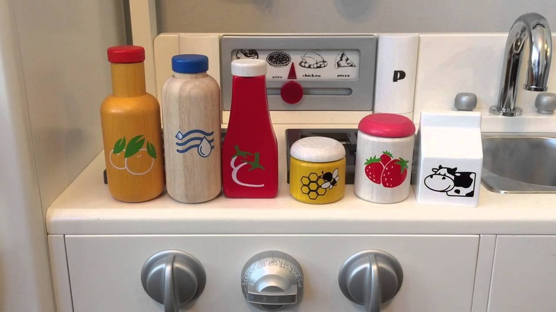 PBK Kitchen Stocking Plan Toys Food And Beverage And Breakfast Sets
