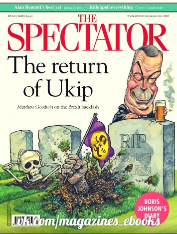 The Spectator - 28 July 2018
