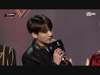 Red carpet with bts│2018 mama in hong kong 181214