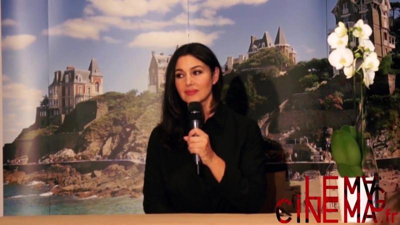Conférence de presse de Monica Bellucci DinardFilmFestival 2018 28 09 2018 смотреть онлайн без регистрации