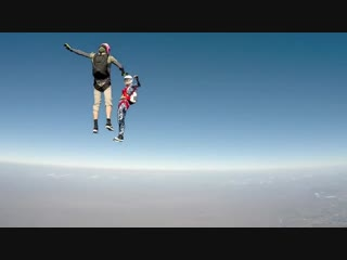 Skydiving over the bahamas