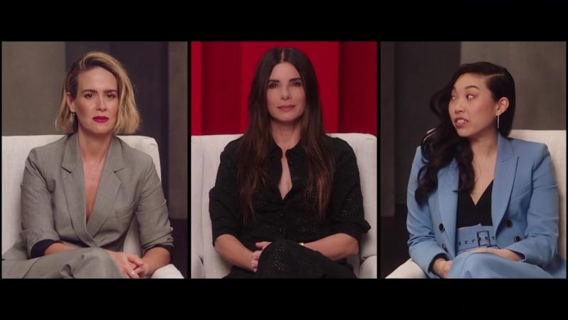 Каст фильма «Восемь подруг Оушена» рассуждает над «За» и «Против» похода в кино.