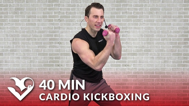 HASfit Cardio Kickboxing Workout to Torch Fat Кардио тренировка на основе кикбоксинга