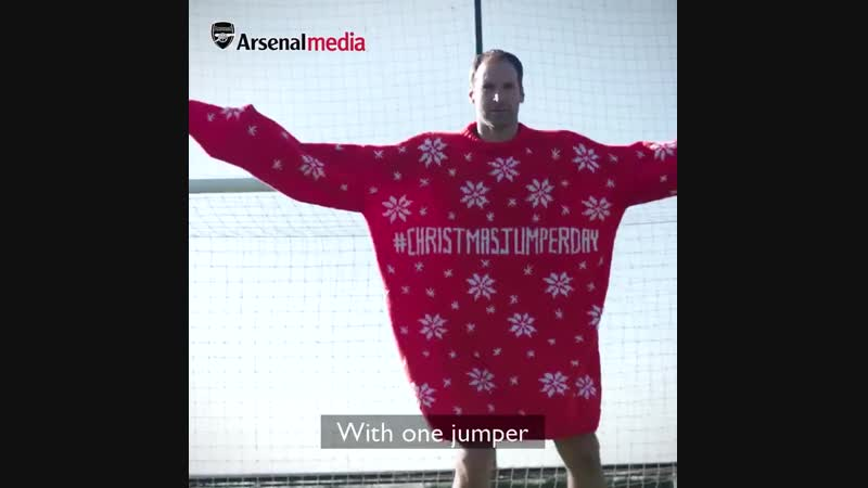Christmas Jumper Day 2018 - Arsenal x Save the Children | vk.com/newsarsenal