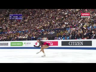 Произвольная программа Алины Загитовой на Чемпионате мира