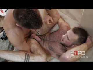 [raw fuck club] jacks office blow and go - jack andy and aiden hart