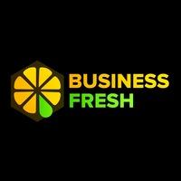 Логотип BUSINESS-FRESH / БИЗНЕС-ЗАВТРАК