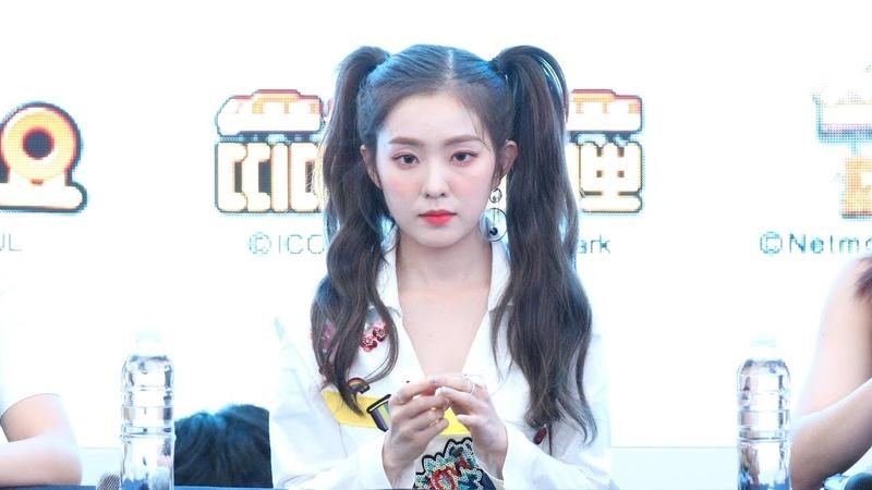 4K 180818 Red Velvet 레드벨벳 아이린 Summer Magic 미니앨범 팬사인회 오프닝 스타필드 고양 직 5289