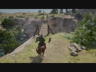 That first jump made me too cocky. red dead redemption 2