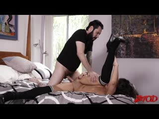 Brunette Babe Victoria Voxxx Sucks and Gets Fucked Hard By Tommy Pistol
