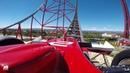 Ferrari Land [POV] : à bord de l'accélérateur vertical Red Force (PortAventura)