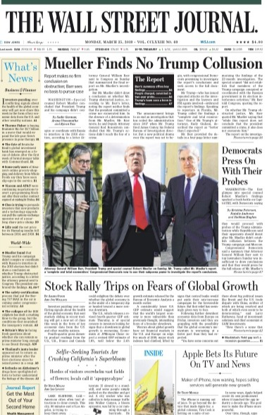 The Wall Street Journal-25-March-2019