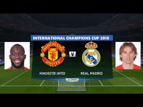 Manchester United vs Real Madrid International Champions Cup 2018 Debut Diogo Dalot