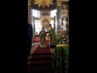 Проповедь митрополита Варсонофия в праздник Святой Троицы
