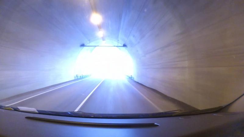 Исландия, выезд из туннеля