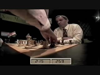 La gaffe de Garry Kasparov face  Anand en 1996