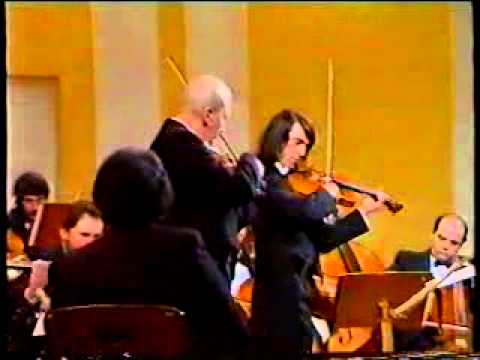 Mozart Sinfonia Concertante K364 Andante Bashmet Kagan
