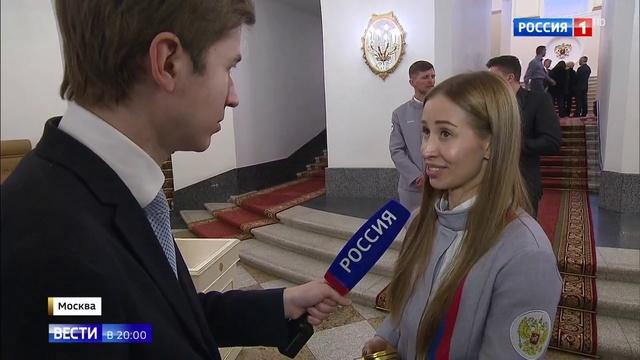 Вести в 20:00 • Герои Паралимпиады в Кремле раскрыли Путину тайну своих побед