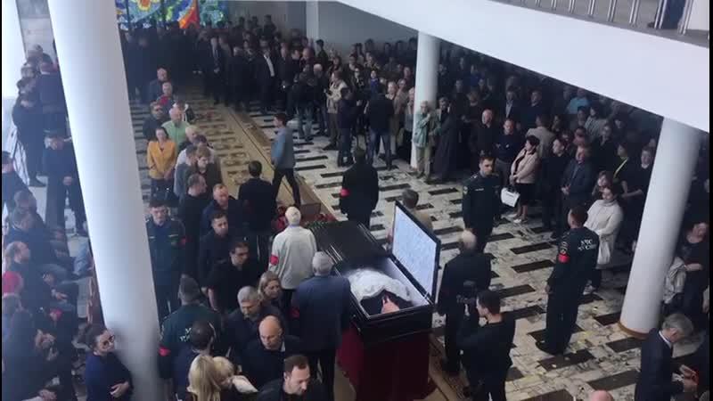 В ДК «Энергетик» сегодня прощаются с Леонидом Штейнбергом