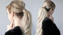 Voluminous Ponytail Holiday Hairstyle GIVEAWAY