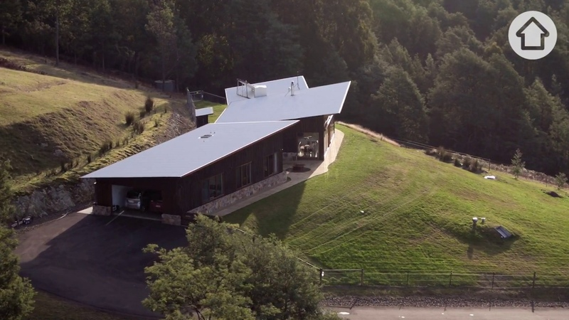 Future Homes Self sufficient living in off-the-grid Tasmanian home