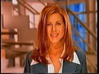 Дженнифер Энистон в рекламе шампуня LOral (1997 год)