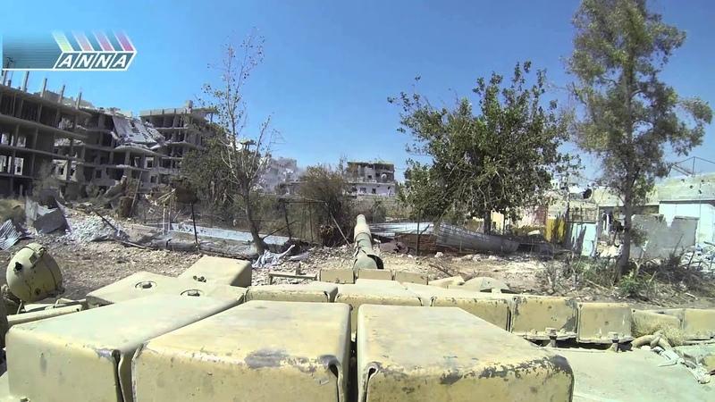 Сирия. Отделение Джобара от Замальки. Часть 1