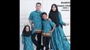 Inspirasi Model baju batik couple keluarga modern 2019