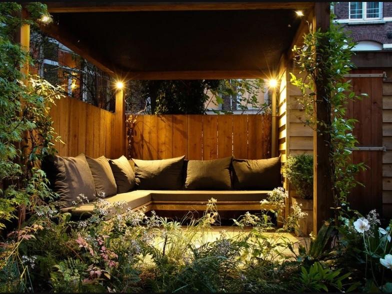 Интересные идеи для организации уютной зоны отдыха на Вашей даче, изображение №5