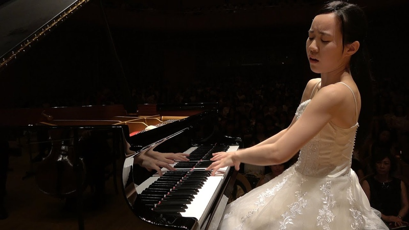 PTNA2017コンペ特級ファイナル/特級 銀賞 三重野奈緒 ショパン ピアノ協奏曲