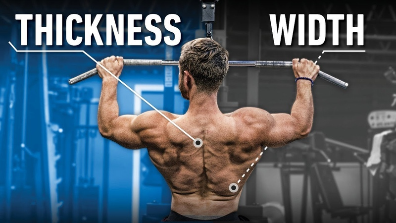 How To Train Back WIDTH vs THICKNESS (Close vs Wide Grip? Rows or Pullups?)