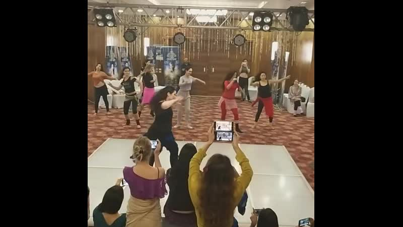 Beginning of Nours WS in Cairo Khan festival July 2019