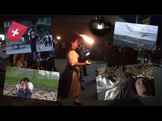 ШВЕЙЦАРИЯ – ВЛОГ 7. Необычный День Швейцарии! Изельтвальд, Интерлакен, Цюрих. DDLJ locations