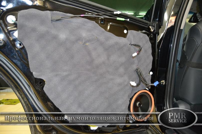 Комплексная шумоизоляция Toyota Camry, изображение №22