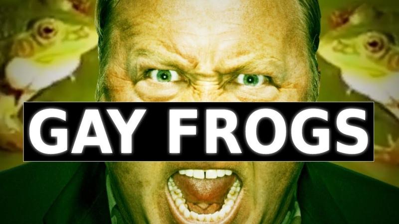 Gay Frogs Alex Jones REMIX